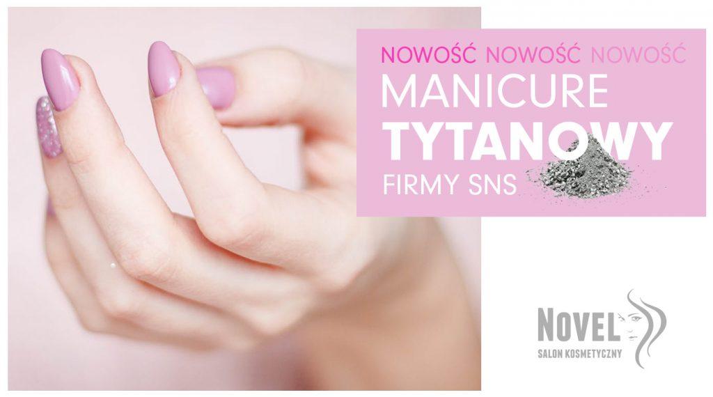 manicure tytanowy wałcz
